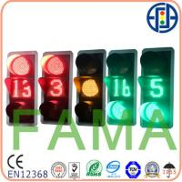 Quality 400mm LED Traffic Light(R&Y Full Ball and Countdown Timer) for sale