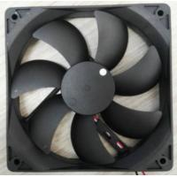 China plastic blades axial flow fan 120x120x25mm 120mm low noise 12v dc brushless fan on sale