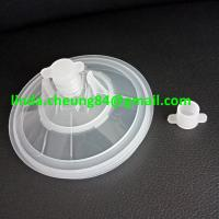 Buy cheap transparent PP spray gun paint mixing cup soft PE material 28oz cup lids with from wholesalers