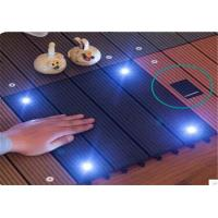 Buy cheap Wood  Plastic Composite DIY Flooring Board with colorful  light product