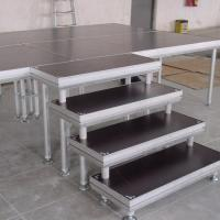 Buy cheap Alloy Assembly Portable Stage Platforms For Sound System And Dj Equipments product