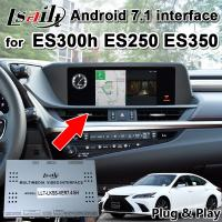 Buy cheap Lsailt Android 7.1 GPS Navigation Box for Lexus ES200 ES300 ES350..2013-18 video from wholesalers
