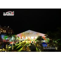 Buy cheap 20 Meters Luxury Outdoor Party / Wedding Marquee Tent With Abs Walls from Wholesalers