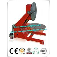 China Electronic Rotation Pipe Weld Positioners , Hydraulic Lifting Tilting Positioner on sale