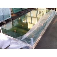 Curve clear 10mm / 8mm Bulletproof  Tempered Safety Glass for Office Separator