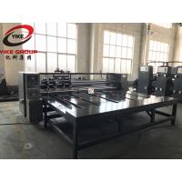 Buy cheap 4.0kw High Speed Rotary Flexo Printer Slotter Machine For Corrugated Cardboard product