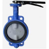 Buy cheap lever operated stainless steel Sanitary food grade Butterfly Valve product