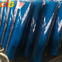 Buy cheap Blue / Green / Crystal PVC Transparent Film , Thickness 0.07mm - 3.0mm product