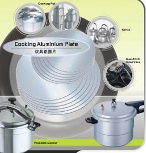 Circle Aluminium Metal Disc / Round Aluminum Sheet for Cookware or Utensil 0.5 - 6.0mm Thick