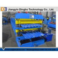 China Steel Tile Forming Machine with PLC Control System for Industry and Civilian Building on sale