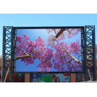 Buy cheap Large Electronic Outdoor Led Billboard Advertising P10 Dynamic Digital product