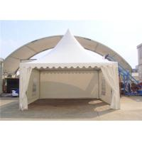 Buy cheap SGS Customized Size Clear Span Structure White Pagoda Party Tent from Wholesalers