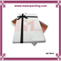 Buy cheap Gift box, white paper gift box, clothing & apparel paper box for sale ME-TB004 product