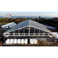Buy cheap 2000 CapacityTransparent Outdoor Garden Party Tent Large Capacity Clear Roof from Wholesalers
