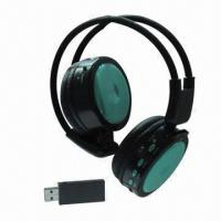 Buy cheap Wireless Stereo Bluetooth Headset with 20 to 20kHz, Supports SD TF Card, FM Radio and USB 2.1 product