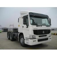 Buy cheap White Color 4X2 6 Wheelers Tractor Truck 371Hp Diesel Fuel Type Euro 3 product