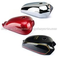 Buy cheap Red / Black Motorcycle Fuel Tank / Gas Tank Cafe Racer Motorcycle Parts product