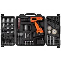 China 78PCS Rechargeable Cordless Power Tool Set Flat Wood Boring Bits / Twist Drill Bits Wire Brush Wheels on sale