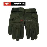 Buy cheap Durable Tactical Protective Gear Black Tactical Shooting Gloves product