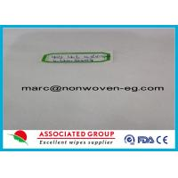 Buy cheap Spunbond Non Woven Fabric Hydroentanglement 40gsm 40% Viscose product