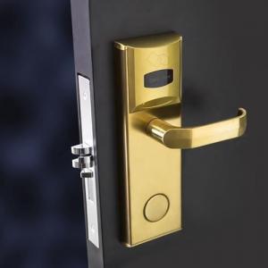 Buy cheap Card Hotel Electronic Door Locks , Hotel Room Security Door Locks product