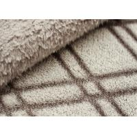 Buy cheap Double Sided Cutting Winter Fleece Fabric , Fleece Material For Blankets product