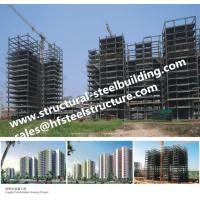 Buy cheap Apartments Fabricated Multi Storey Steel Frame Buildings product