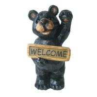 Buy cheap Cute Standing Bear Welcome Solar Garden Lights Animals With White Light product
