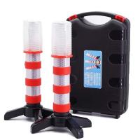 Buy cheap Emergency Road Flares Red Roadside Beacon Safety Strobe Light Warning Signal Alert Magnetic Base and Upright Stand product