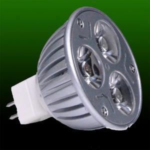 Buy cheap High efficiency white 3W 3pcsX1W LED MR16 Led spot lighting fixtures 6000-7000K product