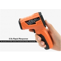 Buy cheap Digital Thermometer Smart Sensor Infrared Thermometer laser with LCD for industrial and domestic use product