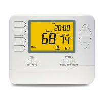 Buy cheap 5 - 1 - 1 Programmable Digital Room Thermostat For Air Conditioning System product