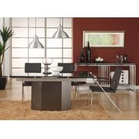 Buy cheap Steel Natural Dark Marble Dining Tables / Luxury Office Furniture from Wholesalers