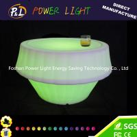 Buy cheap Portable Bar Tables With 5V Voltage , Colors change LED Bar Furniture product