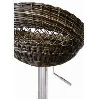 Buy cheap Rattan Series Of The Bar Chair With Chrome Base,W47*D48*H79-100cm In The H-504 from Wholesalers