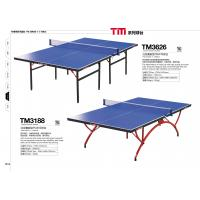 Professional indoor small table tennis table full size with blue tabletop 105582606 - Dimensions of a table tennis board ...