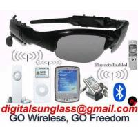 China Bluetooth MP3 Sunglass on sale