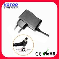 Buy cheap Vertical 12V 0.5A LED Strip Power Supply Short Circuit Protection With Female Cable product