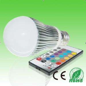 China 3W E27 E14 RGB LED Bulb on sale