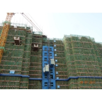 Buy cheap Humanized Cage Comfortable Rack Pinion Construction Site Elevator from wholesalers
