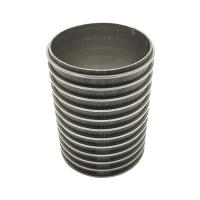 Buy cheap custom stainless steel  Reverse Formed Wedge Wire filter Pipe product