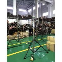 Buy cheap 6m pneumatic telescopic mast with tripod bracket for lightning equipment product
