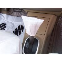 Buy cheap handbraker cover, car seat cover, disposable cover, pe car foot mat, gear cover product