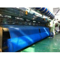 Blue Wrap Knitted Agricultural Netting Roll Windbreak Net , Uv Protection