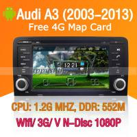 Buy cheap Audi A3 Android Autoradio DVD GPS Wifi 3G Digital TV Blueooth product