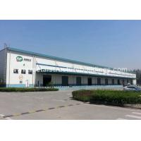 Anti Typhoon Q235 Q345B Large Metal Garage Buildings With Single Layer Floors