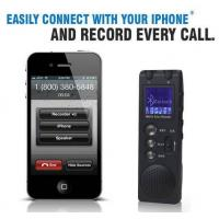 Buy cheap bluetooth cell phone recorder, digital voice recorder with bluetooth, call recorder product