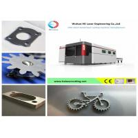 High Power Metal Sheet CNC Fiber Laser Cutting Machine With IPG Raycus