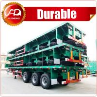 Buy cheap Heavy duty loading capacity brand new tri axles flatbed timber trailer product
