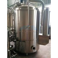 Buy cheap 1000L Red Copper Shell Inner Stainless Steel Three Vessels Brewhouse product
